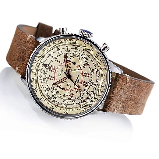 Amazon.com: Stauer - Reloj de pulsera para hombre (acero ...