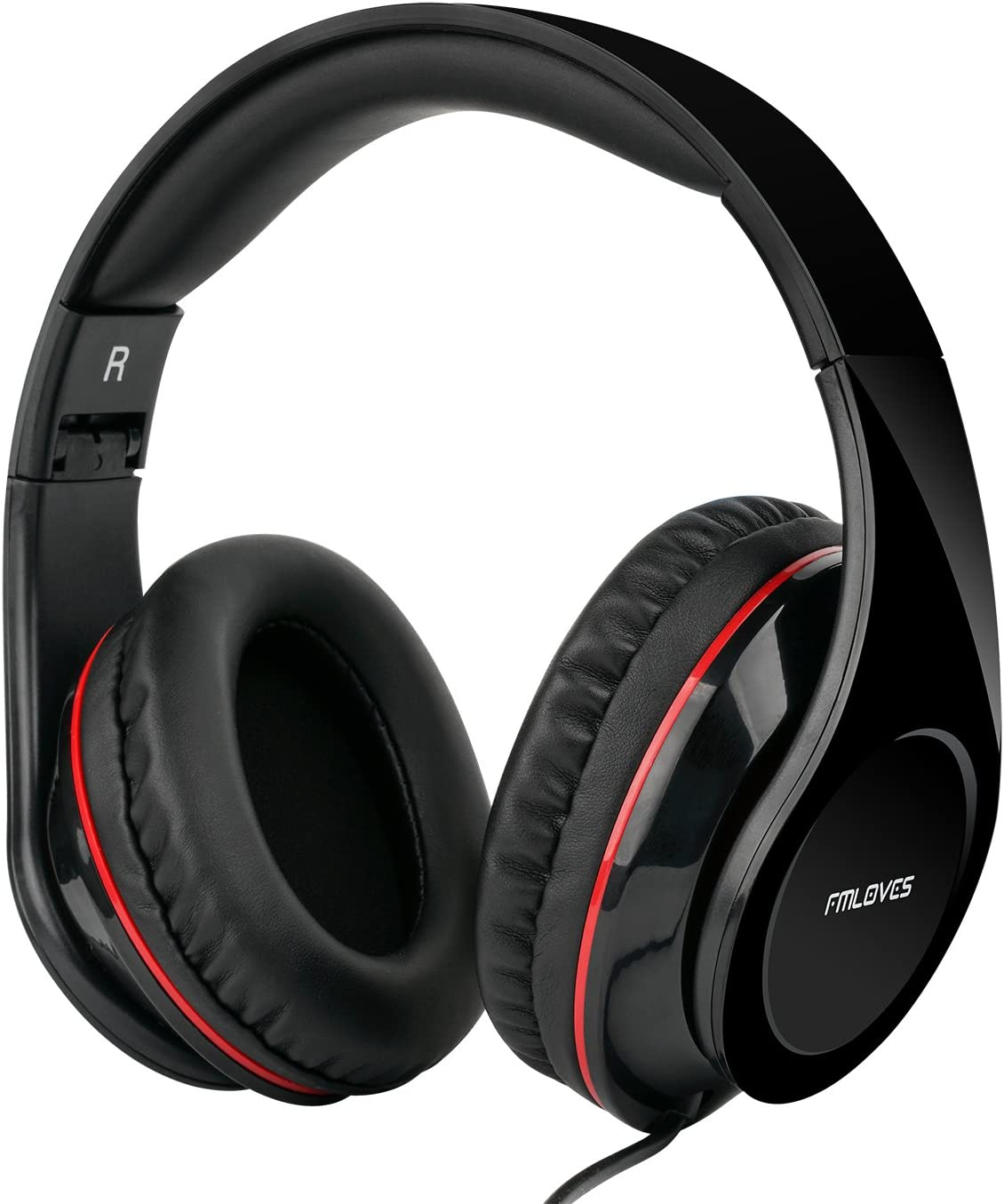 Active Noise Cancelling Over Ear Headphones with HI-Fi,20Hours for Music time Travel and Office Computer