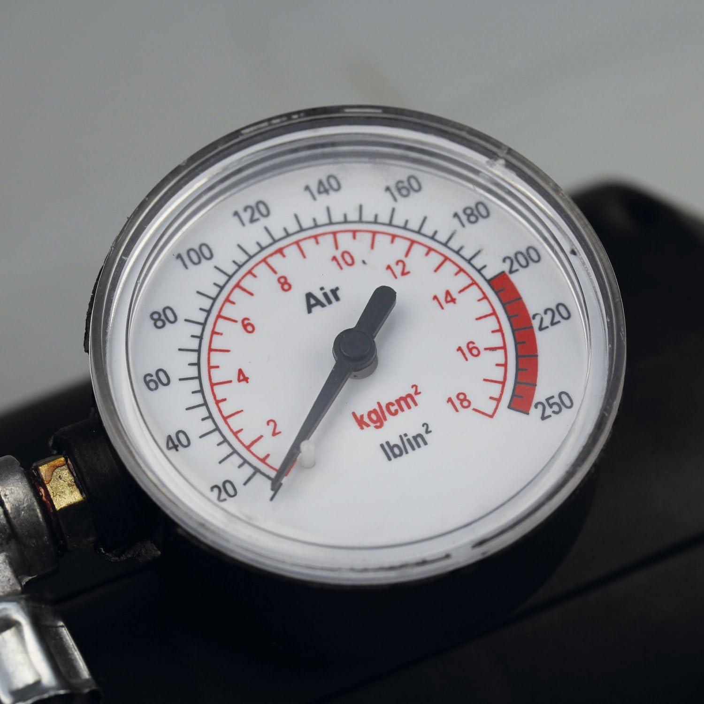 noir Cartrend 50134 Compresseur 12/volts 18 bars