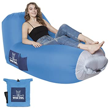 Air Sofa Hammock Inflatable Lounger Air Sofa by Wise Owl Outfitters - Large Waterproof Pool or  sc 1 st  Amazon.com & Amazon.com : Air Sofa Hammock Inflatable Lounger Air Sofa by Wise ... islam-shia.org