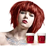 X2 Tinte Capilar La Riche Directions 88ml (Poppy Red - Rojo)