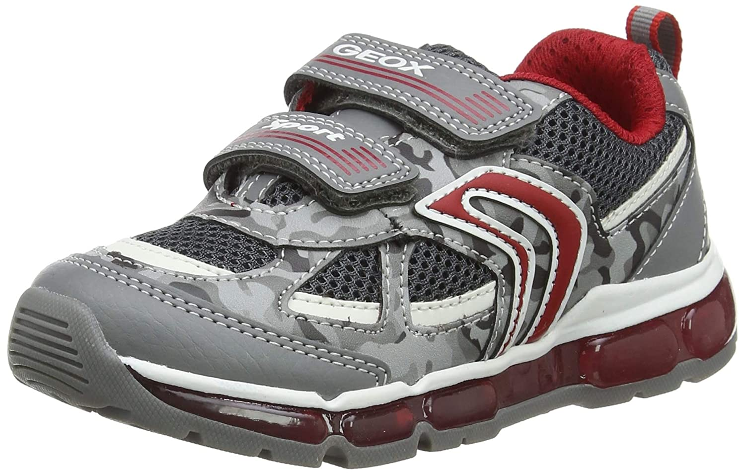 bba15c7448 Geox Boys Android C Light-Up Sneaker Sneaker: Amazon.ca: Shoes & Handbags