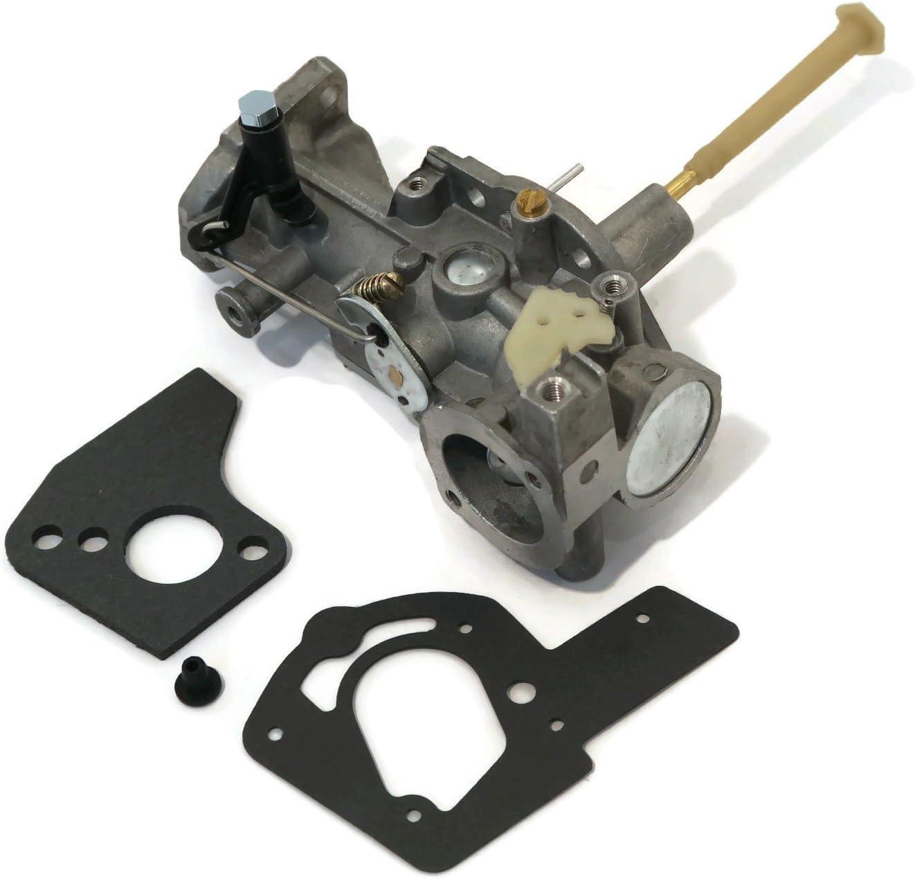 The ROP Shop Carburetor & GASKETS for Briggs Stratton Model 135232 135237 135252 135292