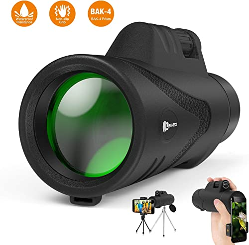 Monocular Telescope,12X50 High Power Waterproof