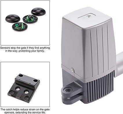Sfeomi - Kit de automatización de puerta corredera, motor ...