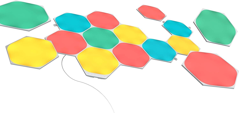 Nanoleaf Shapes Hexagons Kit de Démarrage - 15 Panneaux Lumineux