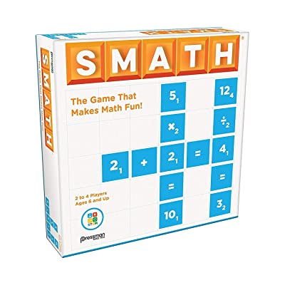 Pressman SMATH - The Game That Makes Math Fun!: Toys & Games