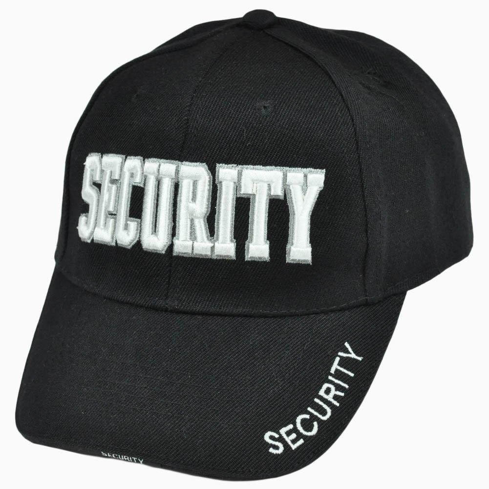 ccf1d9dc160 ... meet 77183 d12fe Security Guard Law Enforcement Officer Bodyguard  Velcro Constructed Hat Cap Safe ...