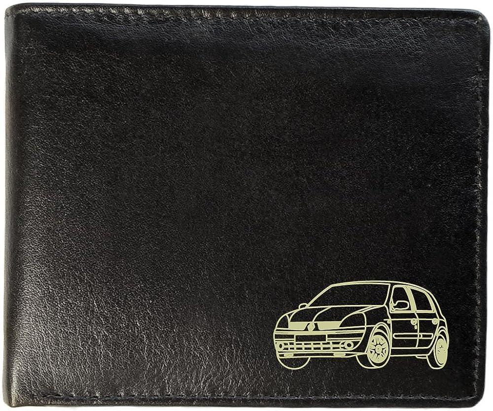 Notts Laser Renault Clio diseño, Personalizado para Hombre Cartera ...