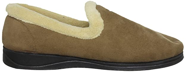 Padders - Pantufla de ajuste fácil, marrón, para hombre Padders - Talla 7 UK / 40.5 EU - Marrón