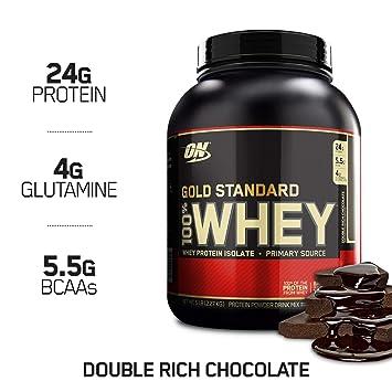 Top 10 Whey Protein 2020.Optimum Nutrition Gold Standard 100 Whey Protein Powder Double Rich Chocolate 5 Pound
