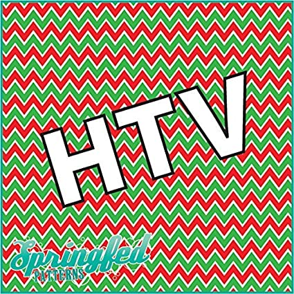 chevron pattern 3 htv christmas colors red x14quot - Why Are Red And Green Christmas Colors