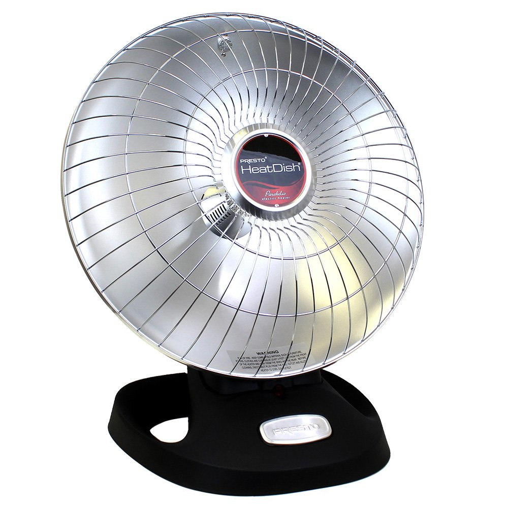 Marvelous Presto Heat Dish Parabolic Electric Heater With Quick Concentrated Heat Wiring Digital Resources Jebrpcompassionincorg
