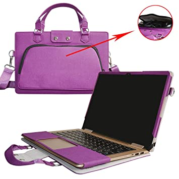 Yoga 720 12.5 Case,2 in 1 Accurately Designed Protective PU Cover + Portable Carrying Bag for 12.5