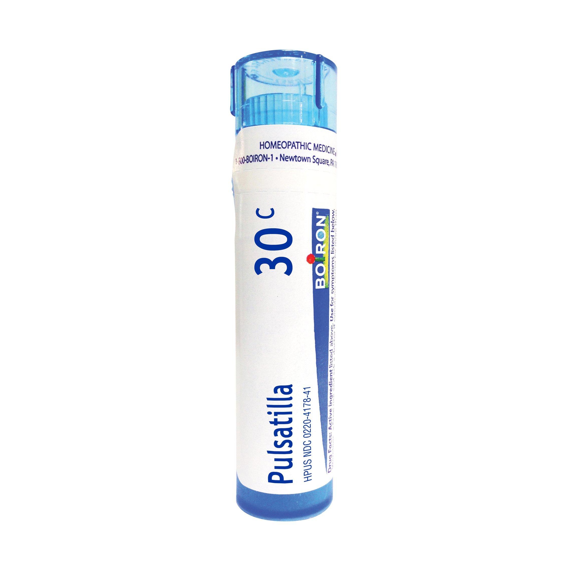 Boiron Pulsatilla 30C, 80 Pellets, Homeopathic Medicine for Colds