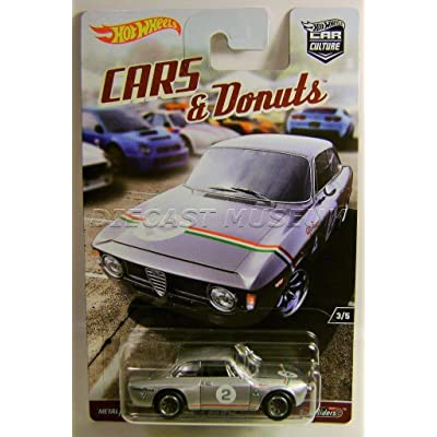 ALFA ROMEO GIULIA SPRINT GTA CARS & DONUTS CAR CULTURE RR HOT WHEELS DIECAST: Everything Else