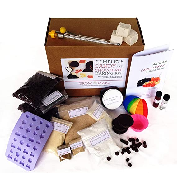 Grow And Make Complete Diy Chocolate And Candy Making Kit