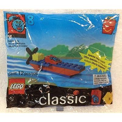 McDonalds Lego Classics #8 Boat 1999: Toys & Games