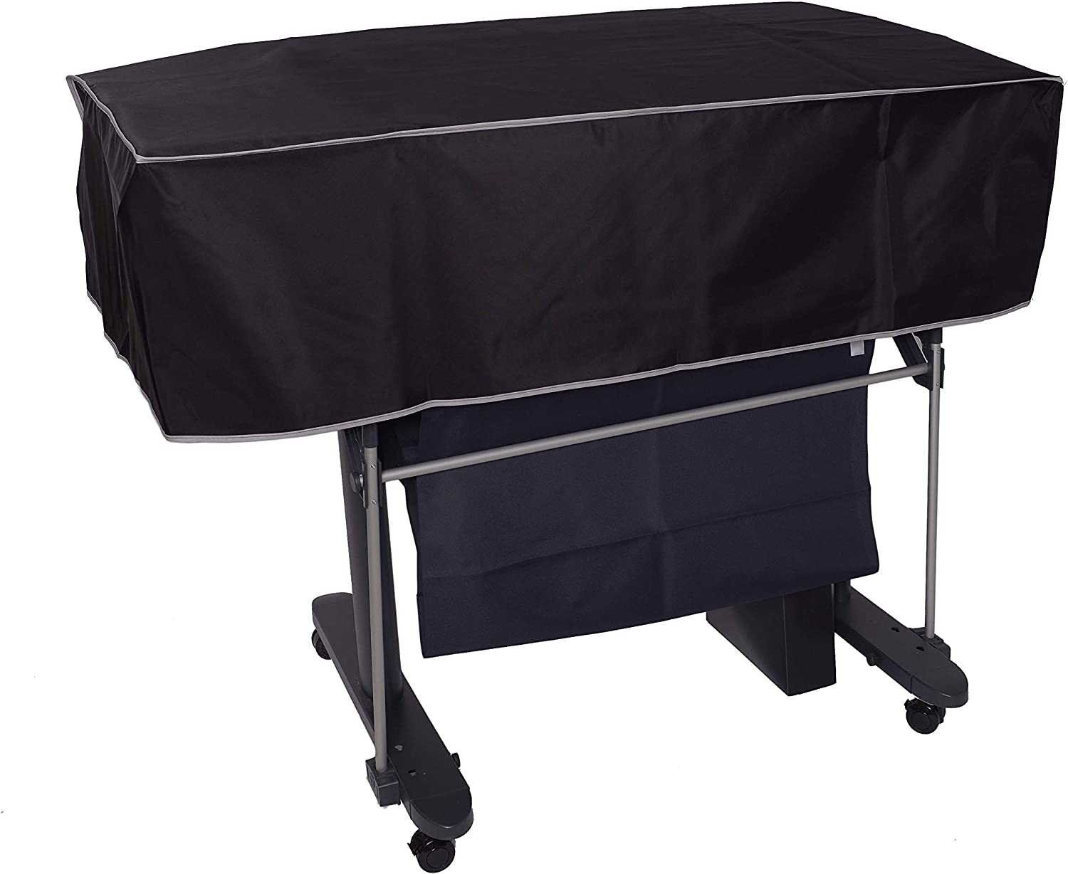 The Perfect Dust Cover, Black Nylon Short Cover for HP DesignJet T520, DesignJet T525 and DesignJet T530 36-in Wide Format Printers, Anti Static and Waterproof by The Perfect Dust Cover LLC