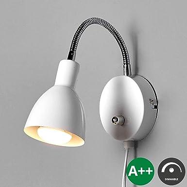 Reality Leuchten Wandleuchte /'Scissor/' Wandlampe Metall Modern Wohnzimmerleuchte