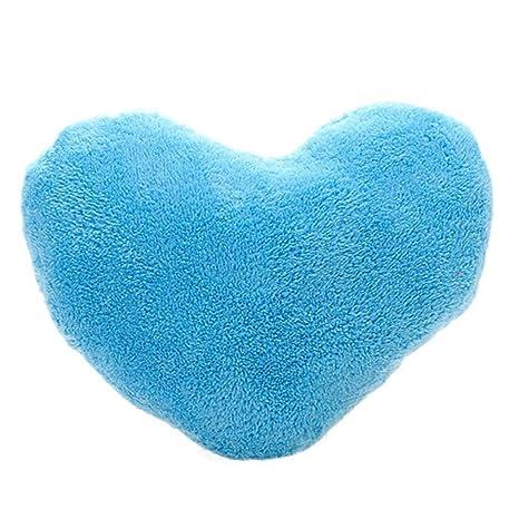 Amazon.com: gbsell suave Amor Forma De Corazón esponjoso ...