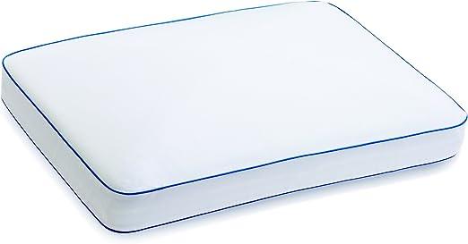 Amazon Com Serta Gel Memory Foam Side Sleeper Pillow Home Kitchen