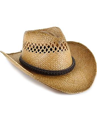3ba7a31f3 Cody James Men's Burnt Straw Hat Multi Small at Amazon Men's ...