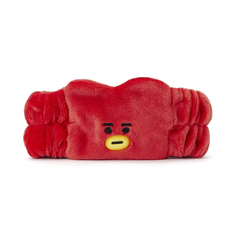 BT21 Official Merchandise by Line Friends - COOKY Spa Makeup Hair Wrap Headbands, Pink