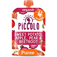 Piccolo Sweet Potato Beetroot Apple & Pear, Red, Small