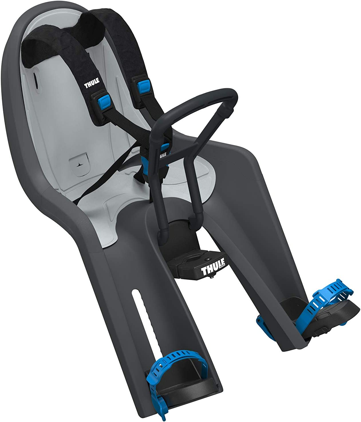 Thule RideAlong Mini, Asiento infantil delantero para bicicleta, cómodo y resistente, para disfrutar de paseos seguros y divertidos