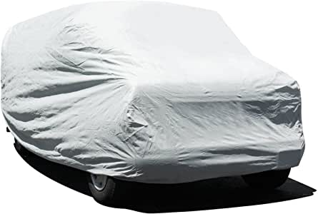 "Budge Lite Van Cover Indoor, Dustproof, UV Resistant Van Cover Fits Full Size Vans up to 228"" L x 72"" W x 72"" H, Gray"