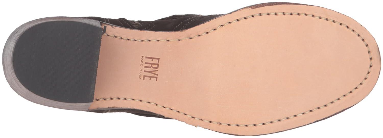 FRYE Women's Sabrina Double Buckle Suede Boot B01944BA5G 8.5 B(M) US|Fatigue