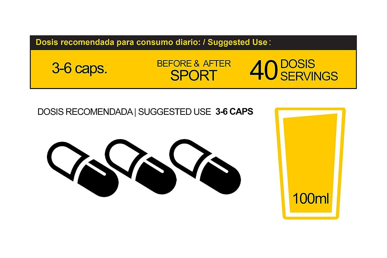Aminergy builder 160 capsulas - Aminoácidos de estructura Bipéptida procedentes de Plasma Sanguíneo libres de Hierro: Amazon.es: Salud y cuidado personal