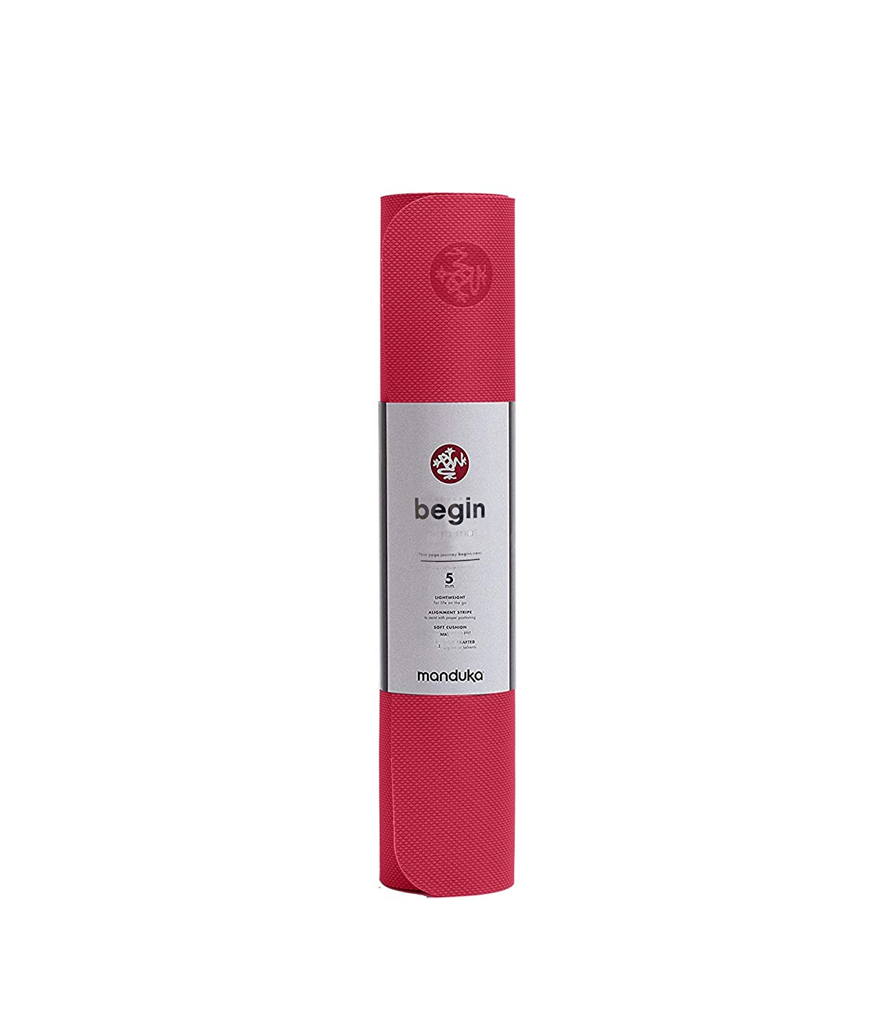 Manduka Begin Yoga Mat (Light Blue): Amazon.es: Deportes y ...