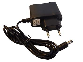 vhbw 220V Fuente de alimentación Cargador Cable de Carga para Hartmann Tensoval medidor de presión Arterial como 900 153, 8194047/01.