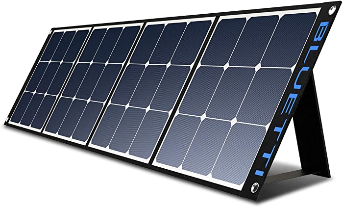 BLUETTI 120W Portable Solar Panel SP120 for AC200P/EB70/AC50S/EB150/EB240/AC30 Power Station Foldable Solar Charger for RV Camper Off Grid