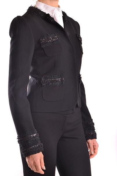Dolce & Gabbana - Chaqueta de Traje - para Mujer Negro Talla de la Marca 46: Amazon.es: Ropa y accesorios