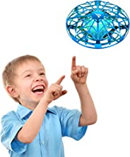 SNAPTAIN Hand Operated Drone for Kids or Adults, Flying Toys Mini Drones with 3D Flips,Circle Flight, Throw'n Go, 2 Speed Ad