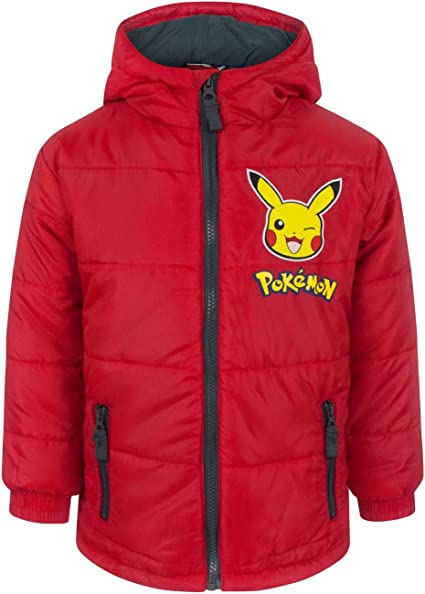 Pokemon Boys/' Black Jacket 5-6 Years.