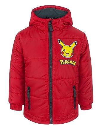 6634f23ae Amazon.com  Pokemon Pikachu Boy s Coat (4 Years)  Clothing