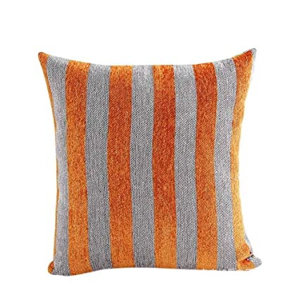 Amazon KIKOY Home Décor Kikoy Cool Stripe Pillow Cases Cotton Impressive Storehouse Decorative Pillows