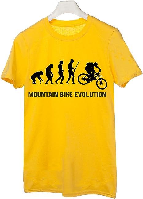 t-shirteria Camiseta Bicicleta de Montaña Evolution – Evolution ...