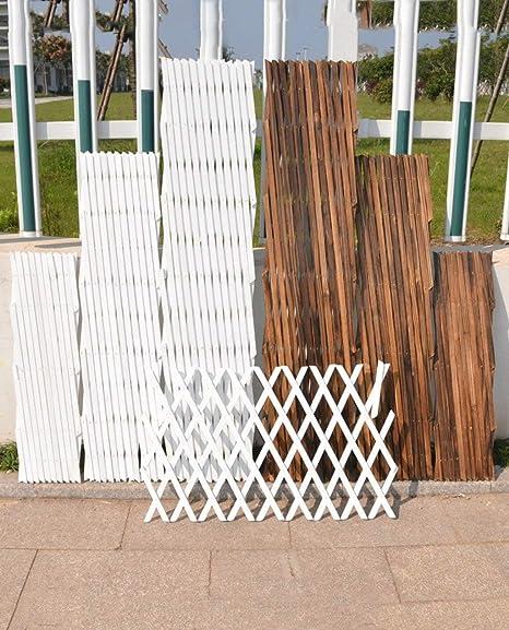 Afanyu Afanyu clôture fleur étagères extérieur couper bois ...