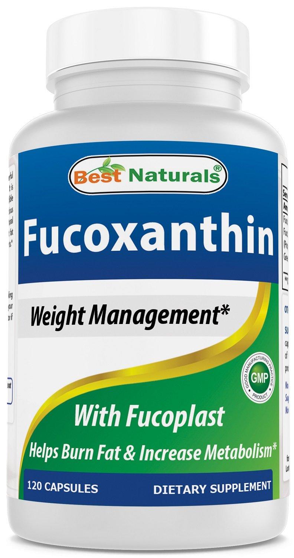 Best Naturals #1 Fucoxanthin with Fucoplast Blend - 120 Capsules