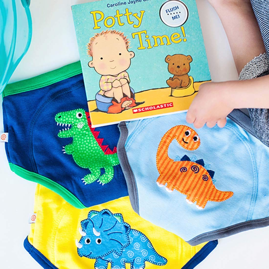 Zoocchini Boys Training Pants Age 2//3 Years Pack of 3 Jurassic Pals