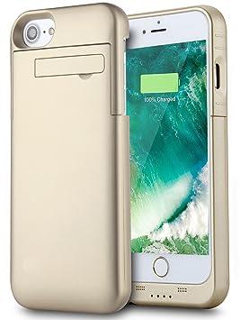 Funda Batería iPhone 8/iPhone 7 (4.7 Inch), PEMOTech® Case Carcasa con Batería Cargador-batería Externa Recargable 3200mAh para iPhone 8, iPhone 7, ...