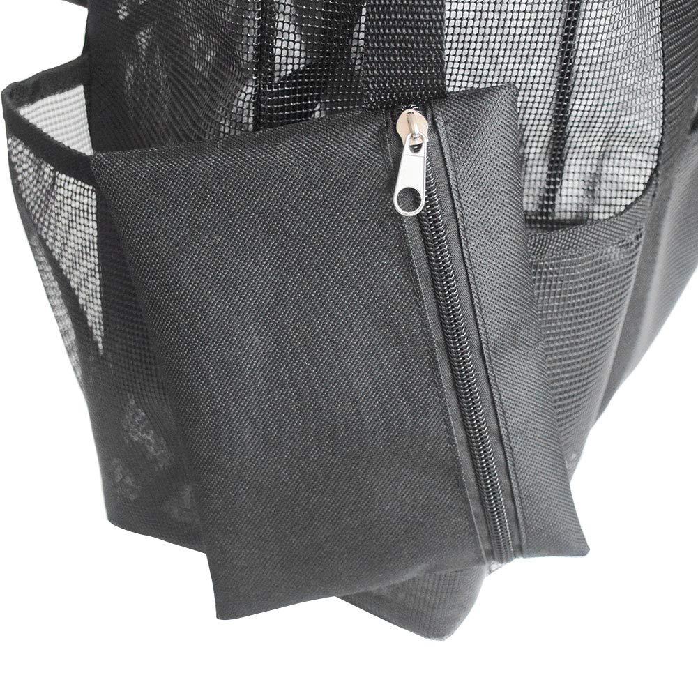 DirkFigge Mesh-Strandtasche Spielzeug-Einkaufstasche gro/ßer Leichter Markt