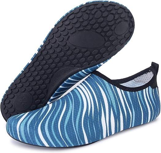 hot Unisex Barefoot Water Skin Shoes Aqua Socks Beach Swim Surf Yoga Exercise OL