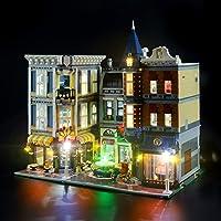 USB LED-Verlichting Kit Set Voor LEGO 10255 Creator Expert Assembly Square Model, LED Light Kit Decoratief Nachtlampje…