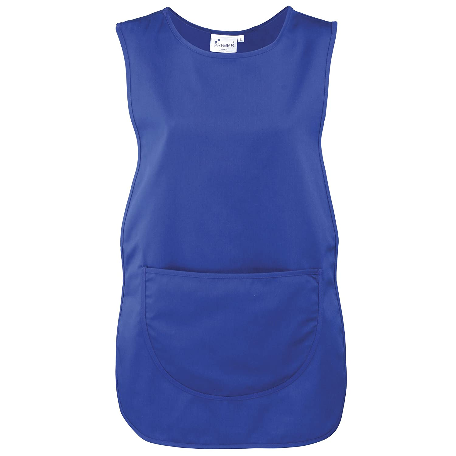 Premier Ladies//Womens Pocket Tabard//Workwear Pack of 2